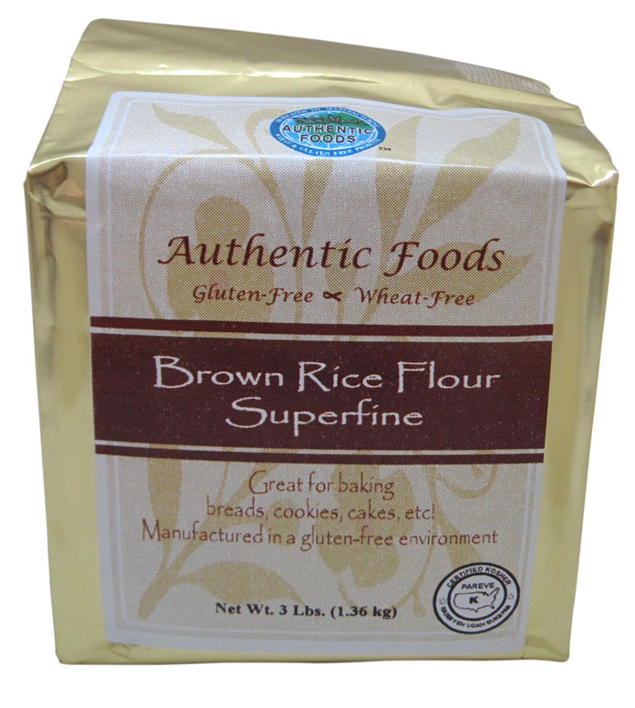 Superfine Brown Rice Flour - Authentic Foods