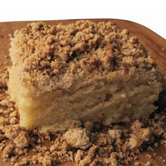 Authentic Foods - Crumble Coffee Cake Recipe